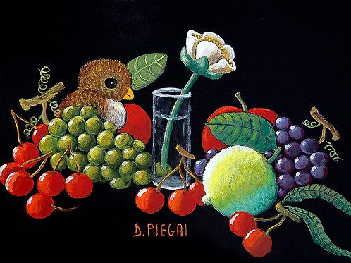 Passerotto con frutta