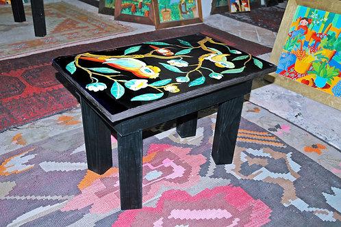 Tavolo dipinto a mano