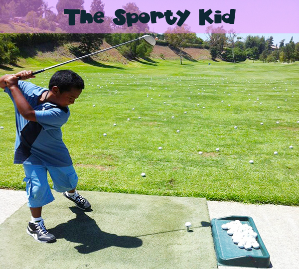 The Sporty Kid