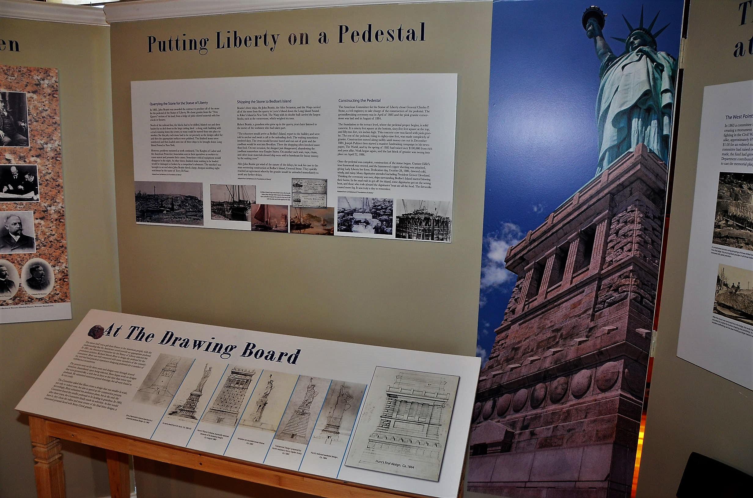 monument exhibit