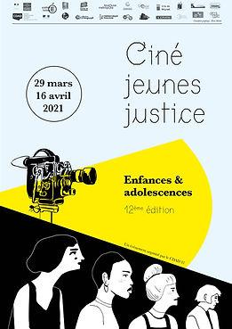 Affiche ciné jeunes justice 2021 - Toulouse