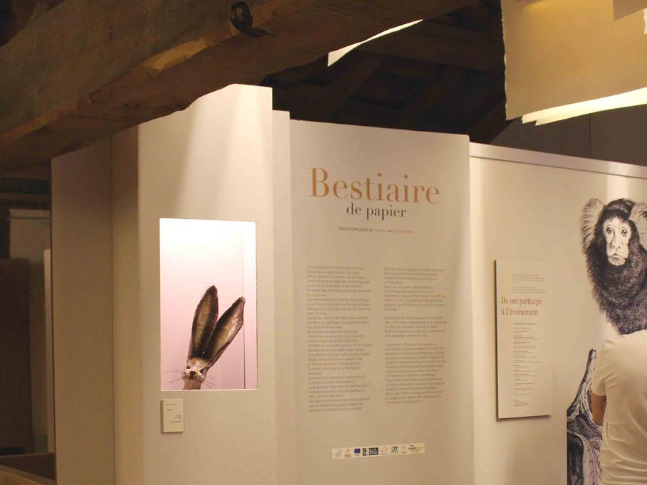 Exhibition - Bestiaire de Papier