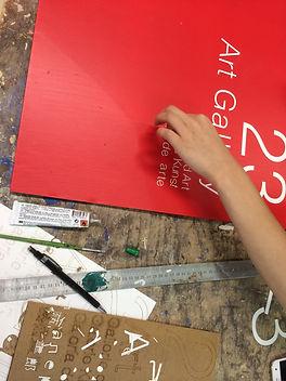 gros mots, signage, signalétique, workshop