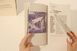 edition, editorial, silet spring, binome, design, editorial design
