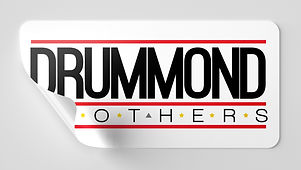 Drummond Brothers Logo Brand Sticker relative to music, engineering, and In The Session blog.