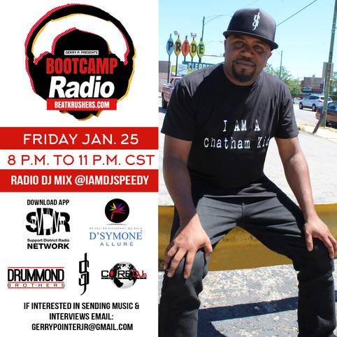 Speedy Radio MixDJ Show Interview