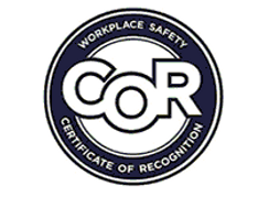 Certificate of Recognition COR