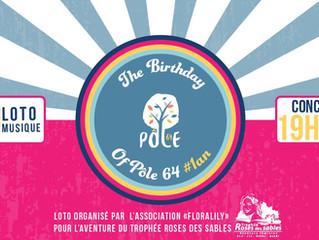 Le Pôle 64 fête ses 1 an le 30 sept 15h>2h !
