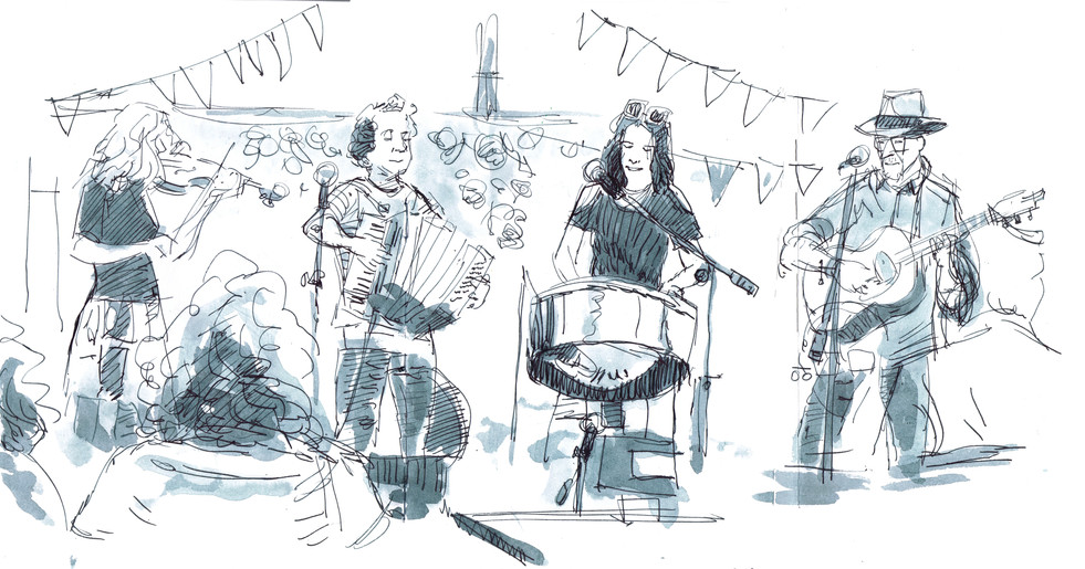 Sketch from Fair on the Square