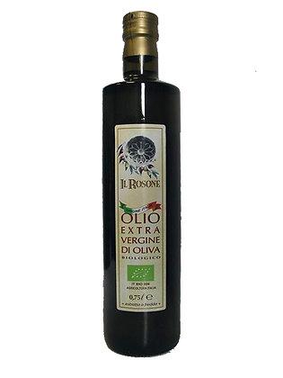 IL ROSONE OLIO EXTRA VERGINE DI OLIVA AGRICOLTURA BIO 100% ITALIA - lt. 0,750