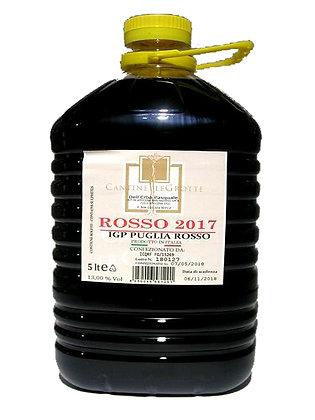 ROSSO PUGLIA - gr. 13 -  lt. 5,00