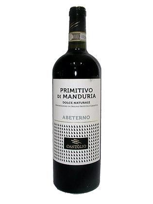 "PRIMITIVO DI  MANDURIA ""ABETERNO"" DOLCE NAT. 17,5°"