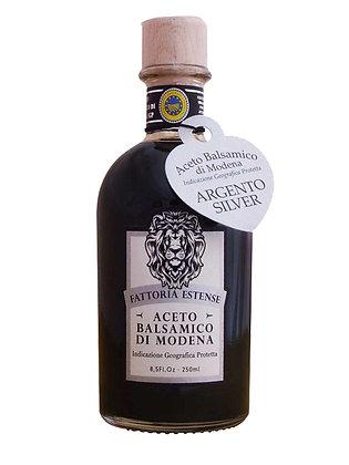 "ACETO BALSAMICO DI MODENA ""ARGENTO"" I.G.P.  - lt. 0,250"