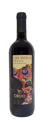 VINO NOVELLO PUGLIA IGP 2020 - Bottiglia lt. 0,750