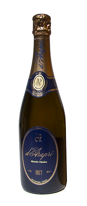 D'ARAPRI' BRUT METODO CLASSICO - Bottiglia lt. 0,750