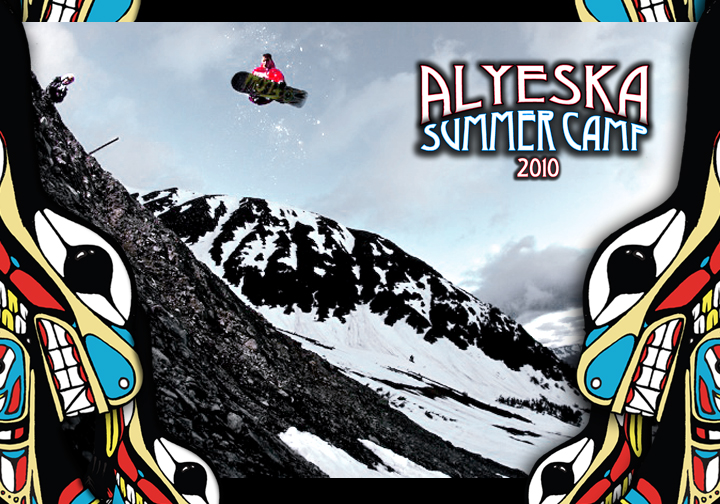 LP Alyeska Camp Poster