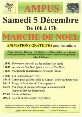 Programme du marché de Noël 2015