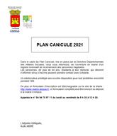PLAN CANICULE 2021