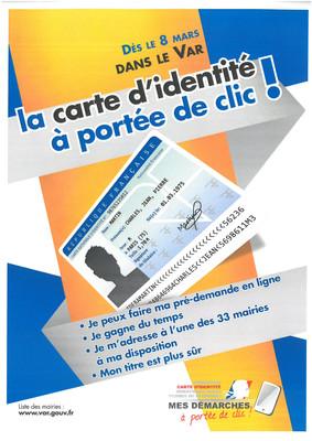 La carte d'identité à portée de clic !