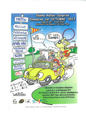 26ème Rallye-Surprise