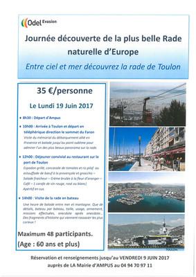Journée découverte Toulon