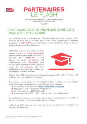 SNCF EXAMS 2019