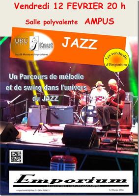 Soirée Jazz vendredi 12 février 2016