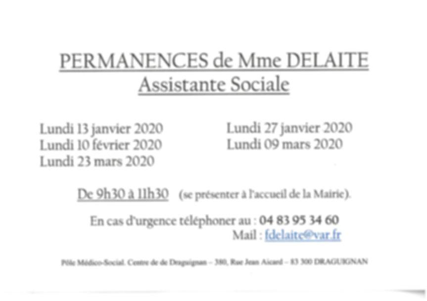 Permanences Assistante sociale 01-02-03