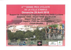 4 ème Grand Prix Cycliste de la ville d'Ampus