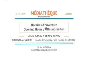 OFFICE DU TOURISME - MEDIATHEQUE