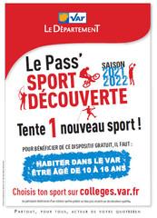PASS' SPORT DECOUVERTE - SAISON 2021-2022