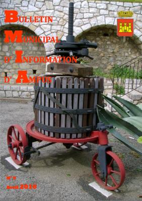 Le bulletin municipal d'information d'Ampus d'Avril 2016 est en ligne