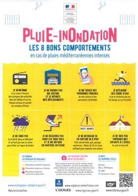 PLUIE - INONDATION
