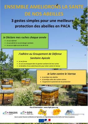 Apiculteurs, ensemble améliorons la santé de nos abeilles