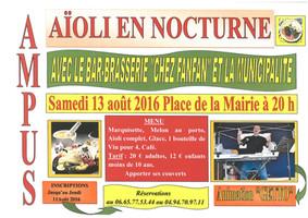 Aïoli nocturne du 13 août 2016