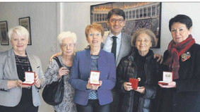 Femmes bénévoles récompensées