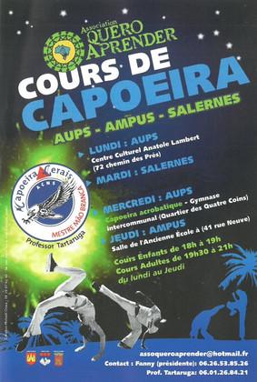 Reprise des cours de Capoeira