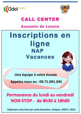 NAP d'Ampus : Information aux Familles