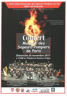 CONCERT Musique des Sapeurs-Pompiers de Paris