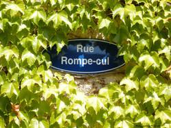 6 Plaque Rue Rompecul.JPG