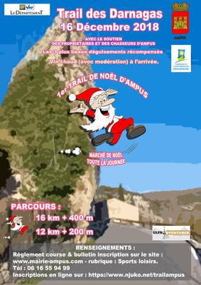 Le Trail des Darnagas d'Ampus s'ouvre aux Marcheurs Nordiques !