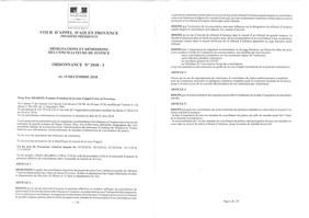 Conciliateur de justice - renouvellement de mandat et extension de la compétence territoriale.