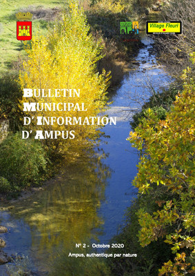 Bulletin Municipal d'information d'Ampus / Octobre 2020