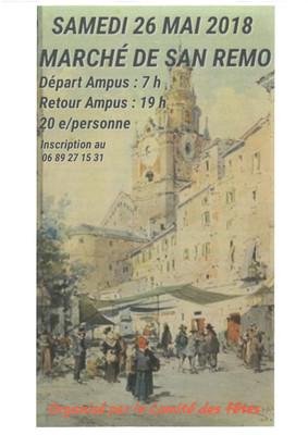 Marché de San Remo