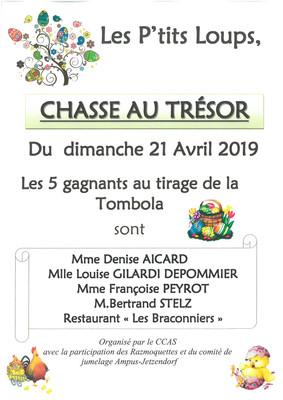 Tombola - Chasse au Trésor