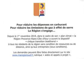 """""""Plan climat"""": La Région s'engage..."""