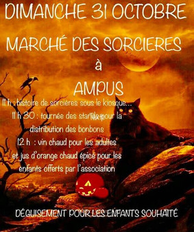 MARCHE DES SORCIERES - DIMANCHE 31 OCTOBRE 2021