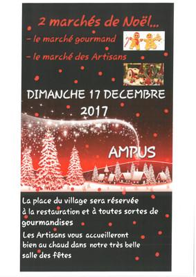 Marchés de Noël à Ampus