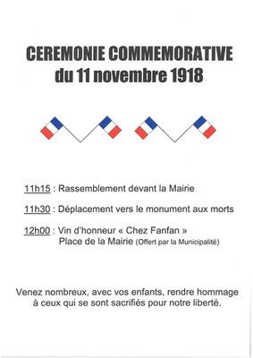11 novembre à Ampus