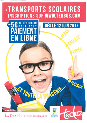 Transports scolaires 2017/2018